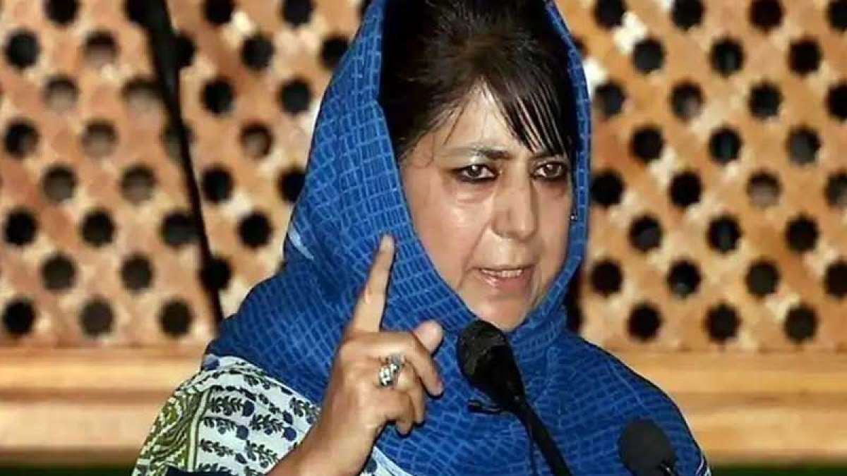 Badge of honour if standing by my people makes me a separatist: Mehbooba Mufti