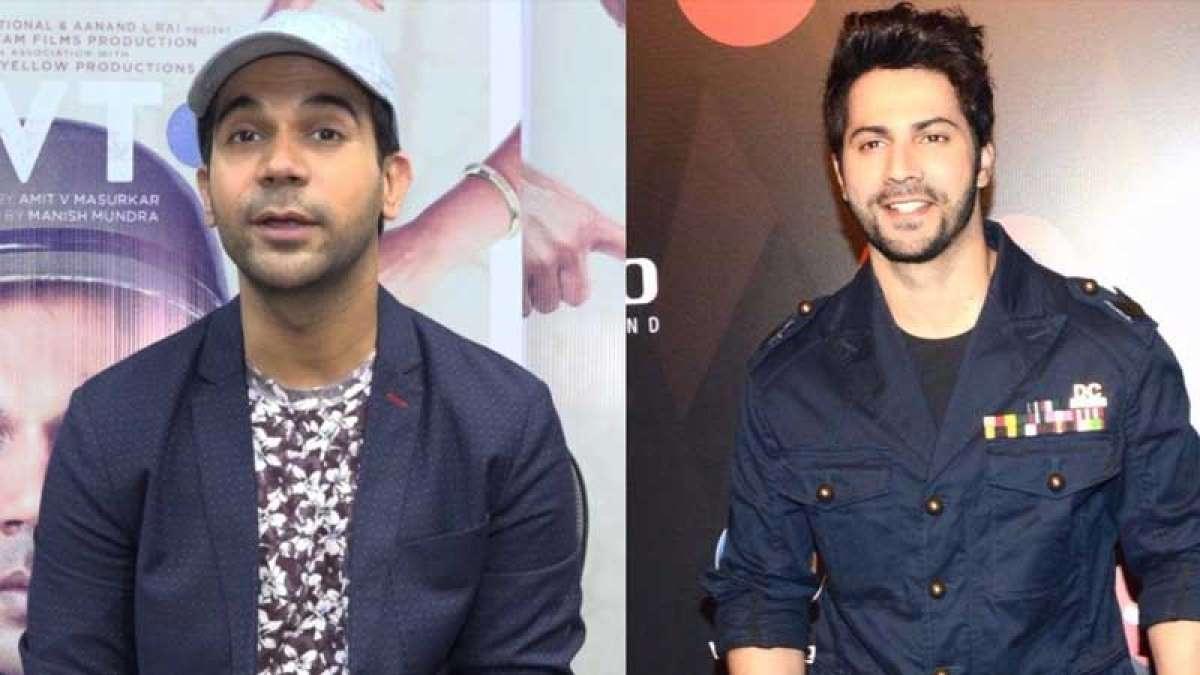 Actors Varun Dhawan and Rajkummar Rao