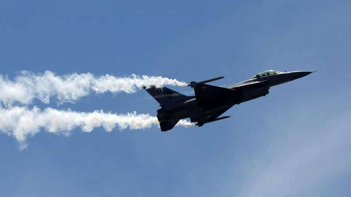 Pakistan's F-16 fighter jets radar images in Indian air space made public