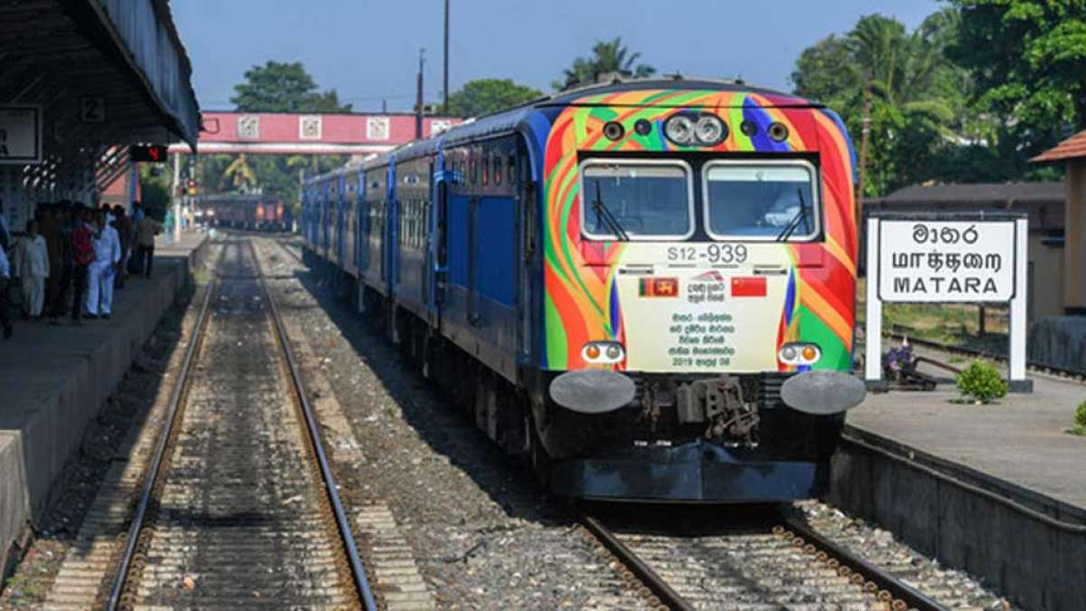 China builds first new rail line in Independent Sri Lanka