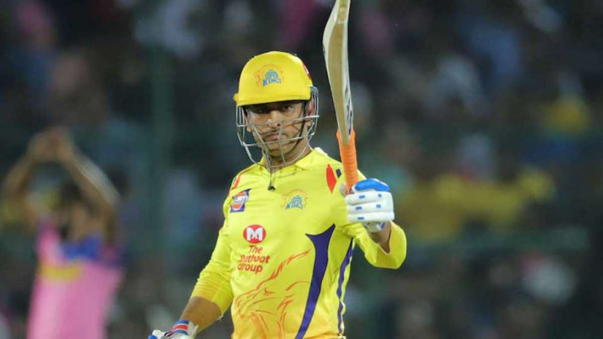 MS Dhoni scripts unique record with a win against Rajasthan Royals
