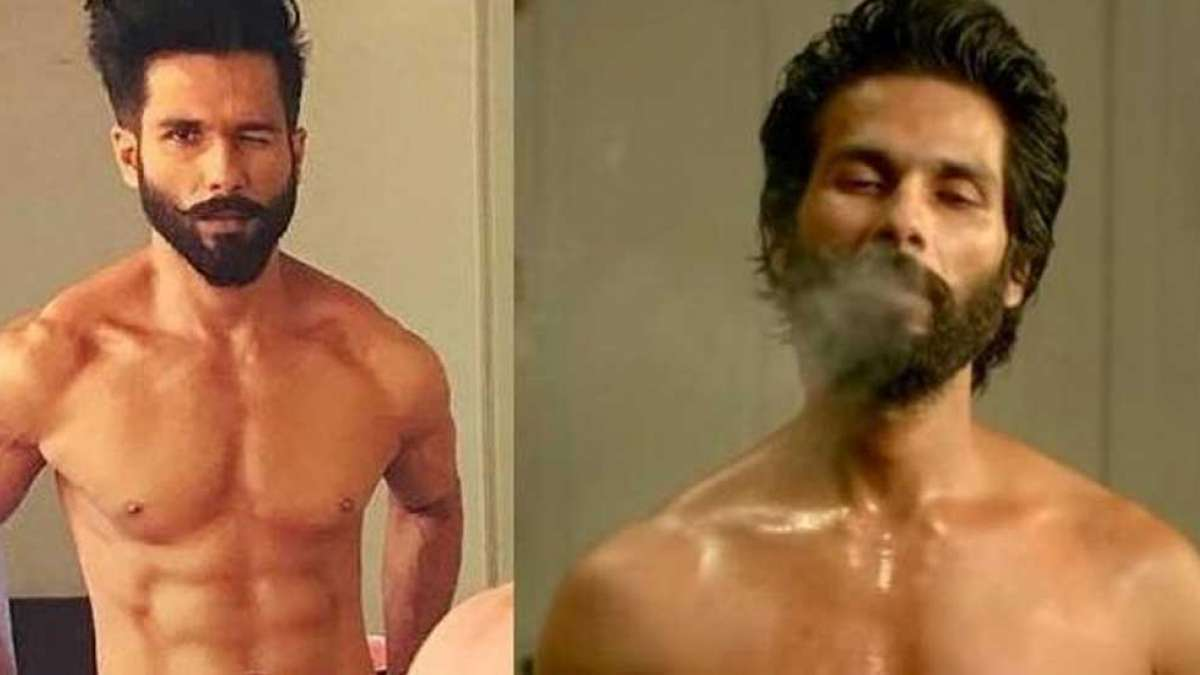 Shahid Kapoor smoked 20 cigarettes a day for Kabir Singh