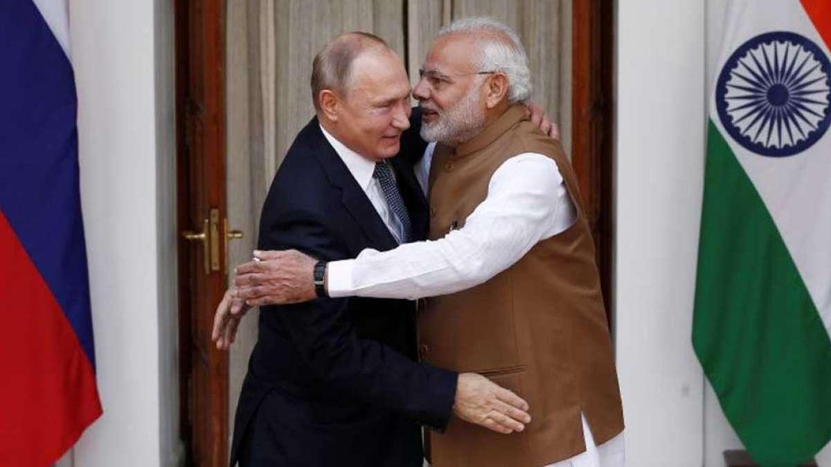 Russia honours PM Narendra Modi its civilian award for promoting bilateral ties