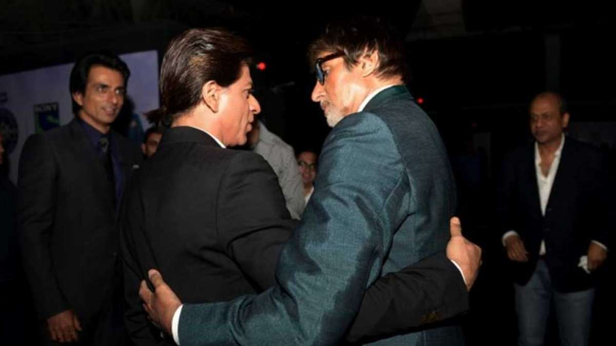 Amitabh Bachchan demands bonus from Shah Rukh Khan for giving a hit to Red Chillies