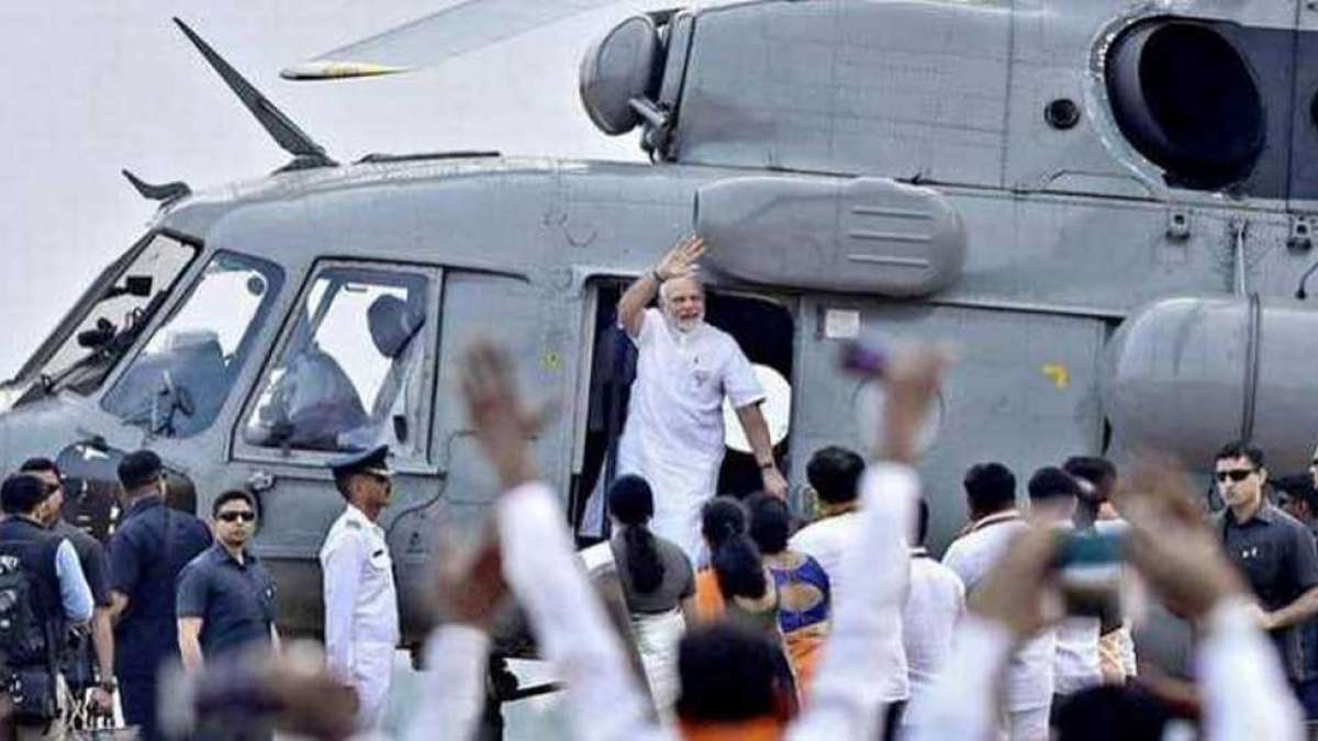 Congress slams suspension of IAS officer who checked PM Modi's helicopter
