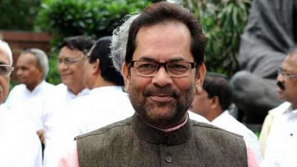 Lok Sabha Election 2019: EC warns Mukhtar Abbas over 'Modi Ji Ki Sena' remark