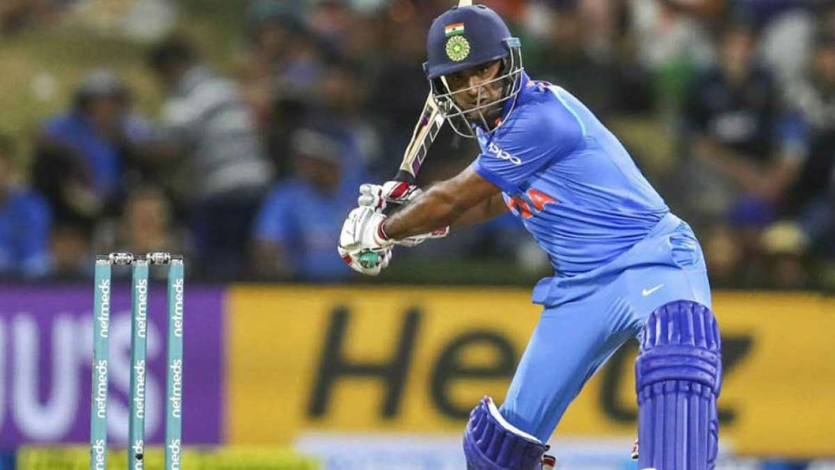 Indian player Ambati Rayudu during a match