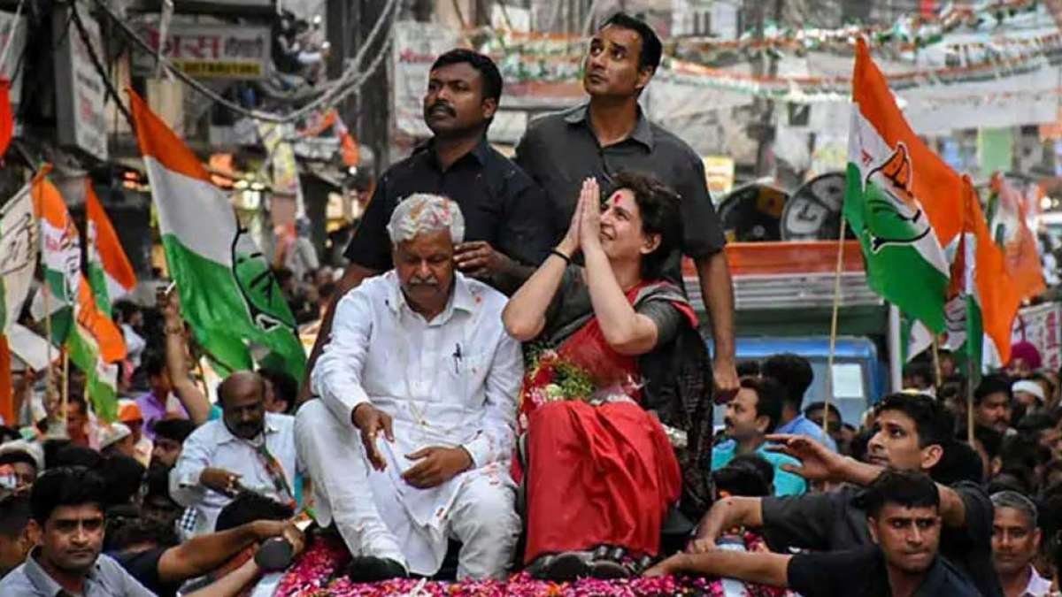 I am not like Indira Gandhi, but will work like her: Priyanka Gandhi in Kanpur