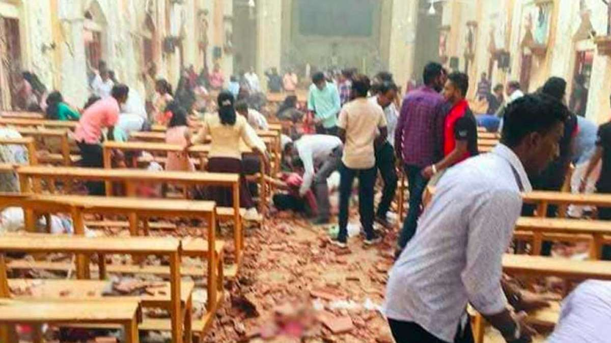 At least 49 dead, 280 injured in six blasts in Sri Lanka's churches, hotels on Easter