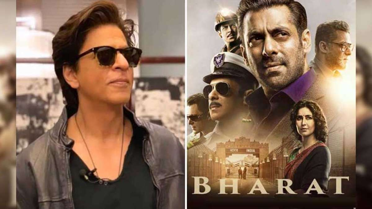 Bharat Trailer: Check out Shah Rukh Khan's reaction on 'Bhai' movie