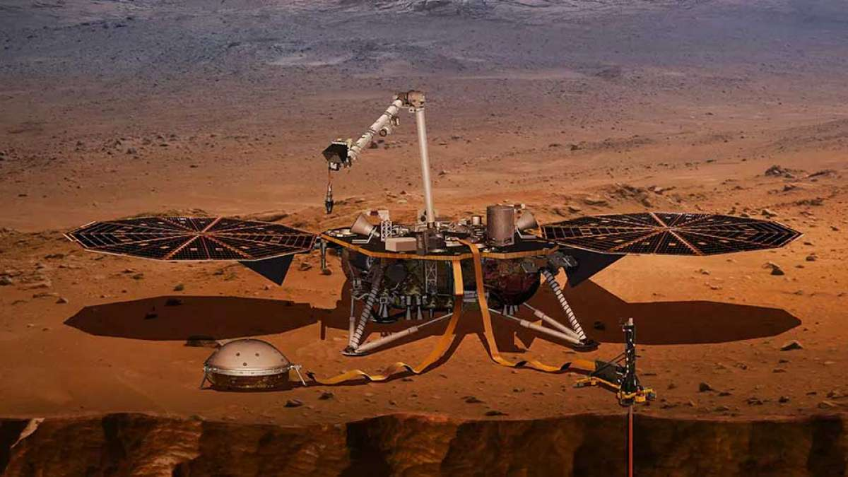 Marsquake: First quake on mars recorded by NASA