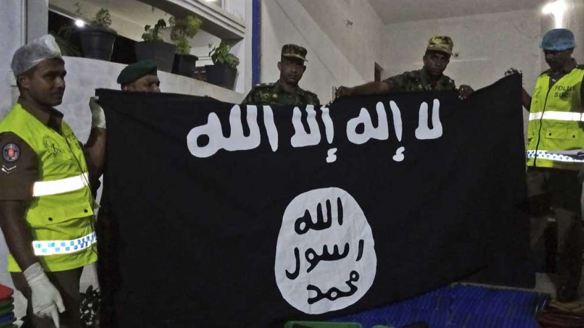 Islamic State claims 3 terrorists blew themselves in Sri Lanka