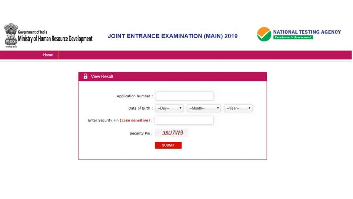 JEE Main Result 2019 declared 24 candidates get 100 NTA Score