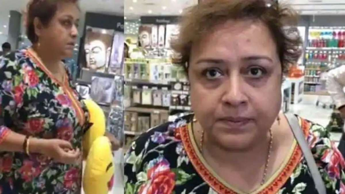 Delhi aunty who made disgusting rape remark on a girl wearing short dress apologises