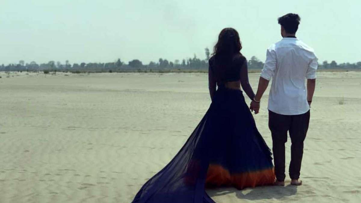 Ranjhana First Look: Hina Khan shares a picture with Priyank Sharma