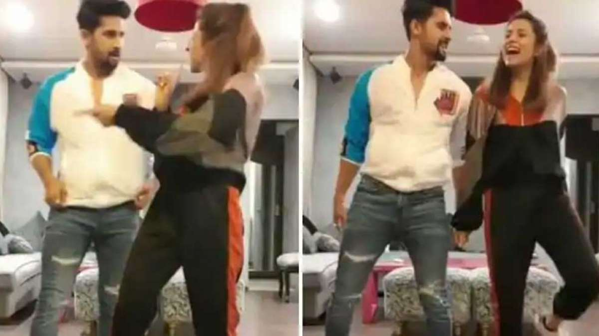 Watch: Sargun Mehta flaunts Bhangra moves with husband in this video