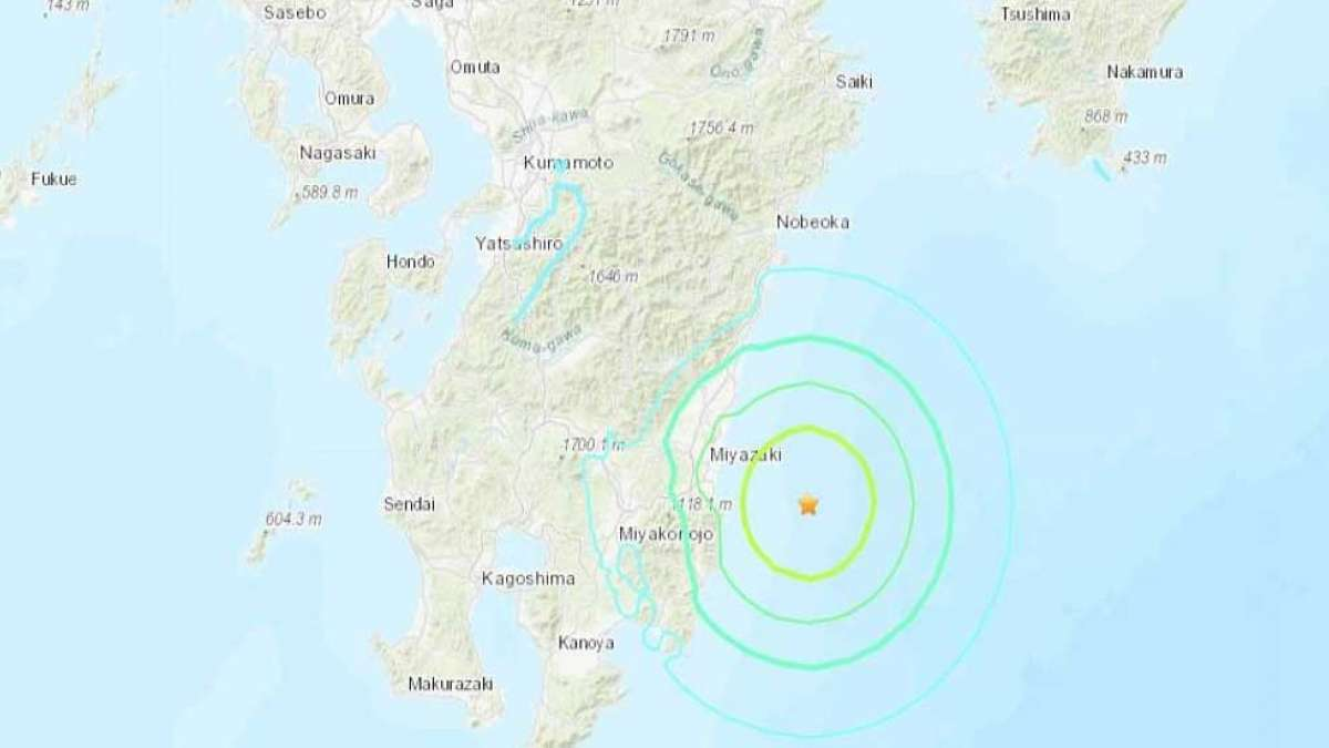 Strong 6.3 magnitude earthquake hits Southern Japan, no tsunami warning