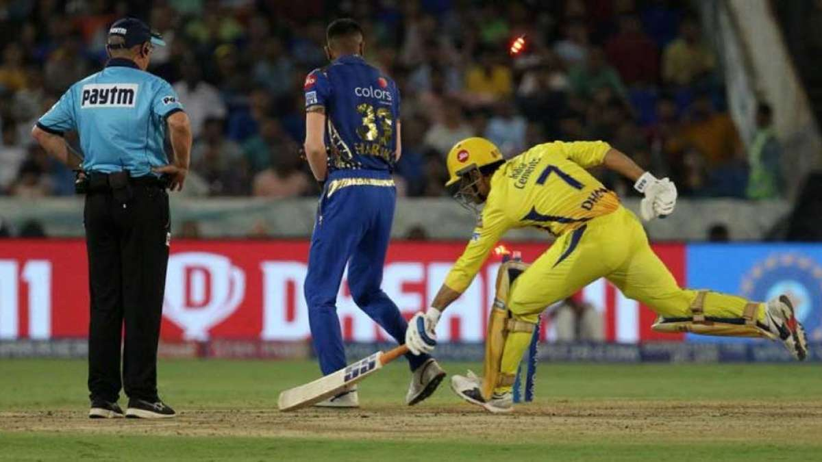 IPL 2019: MS Dhoni's controversial run out - a game changer for Mumbai Indians