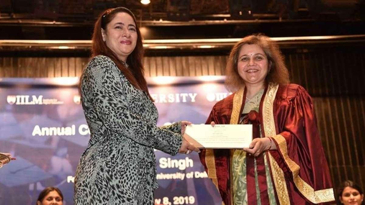 IILM Annual Convocation 2019: Alumnus Dipti Das felicitated for success in professional life