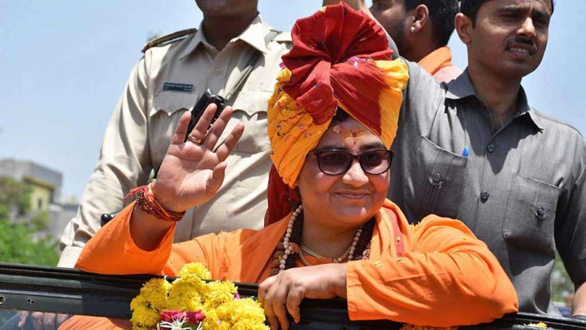 Pragya Thakur tags Nathuram Godse as patriot, sparks outrage