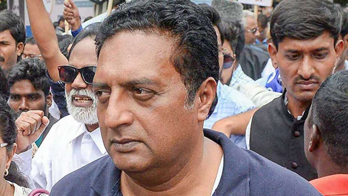 Election results are a solid slap on my face, says Prakash Raj