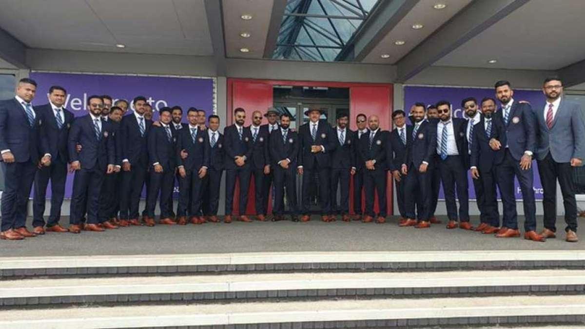 ICC World Cup 2019: Team India reaches London
