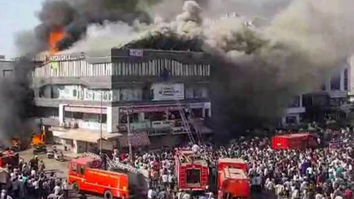20 killed in massive blaze at coaching centre in Surat