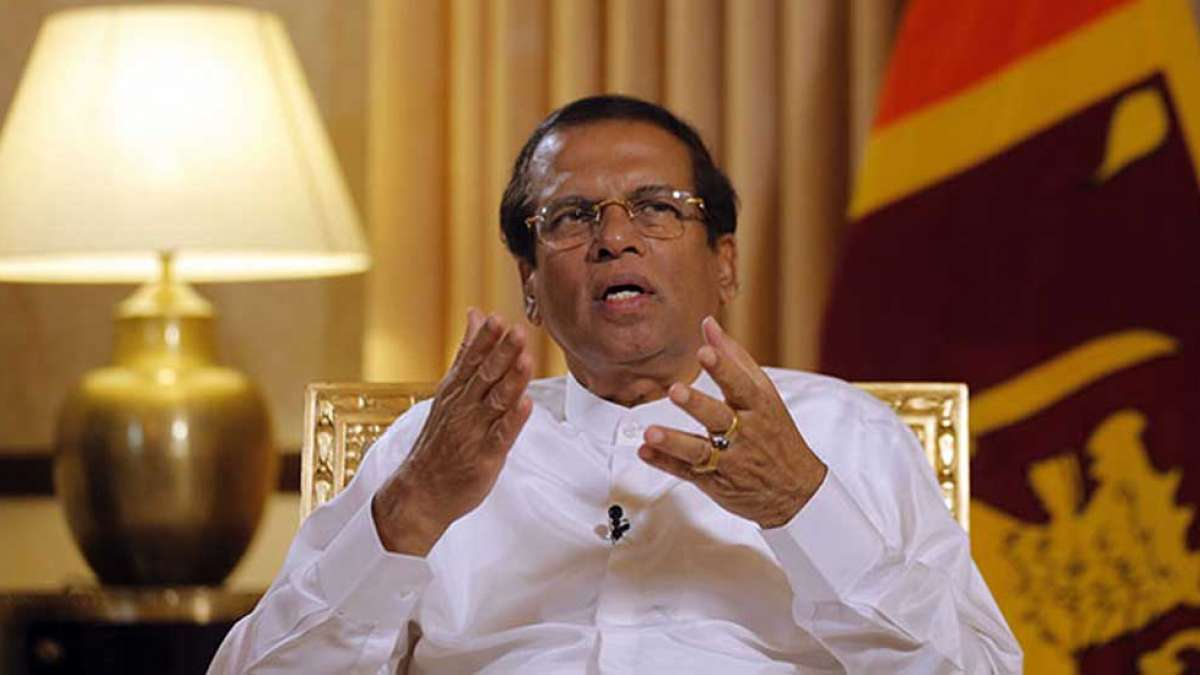 Sri Lanka 99% secure, says Sirisena