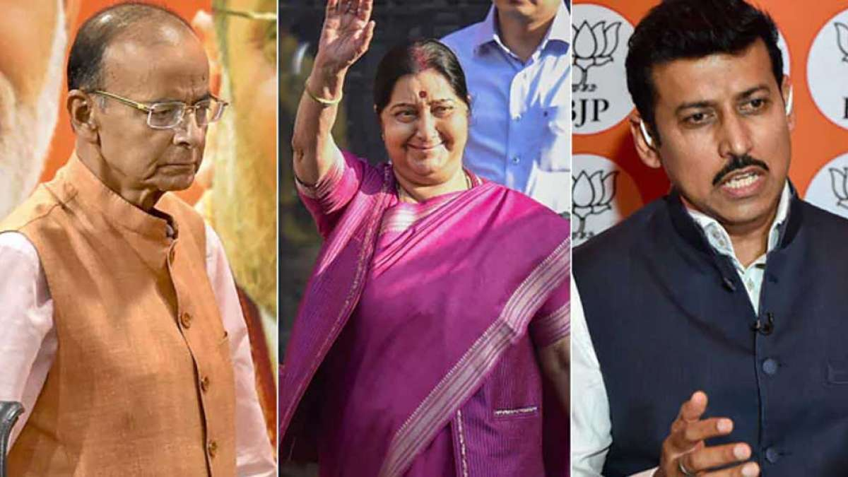 Big names missing from new Team Narendra Modi