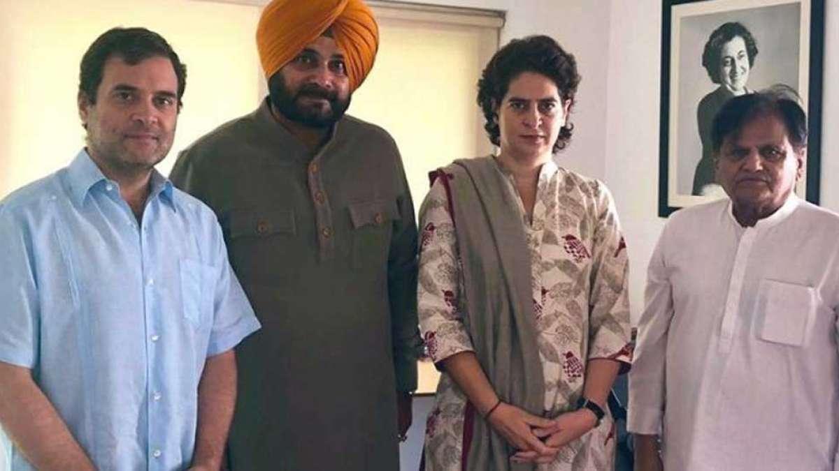 Navjot Singh Sidhu meets Rahul Gandhi amid tussle with Punjab CM