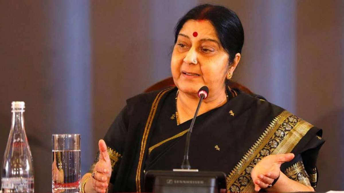 Sushma Swaraj rejects reports of her appointment as Andhra Pradesh Governor