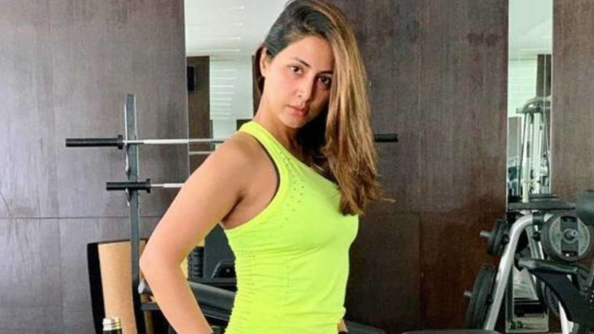 Hina Khan's latest pictures are a perfect motivation for fitness