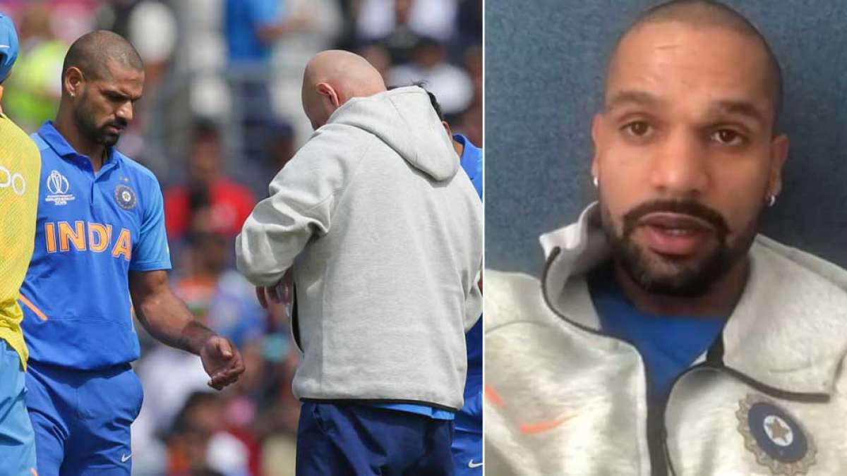 ICC World Cup 2019: Shikhar Dhawan's heartfelt message after being ruled out