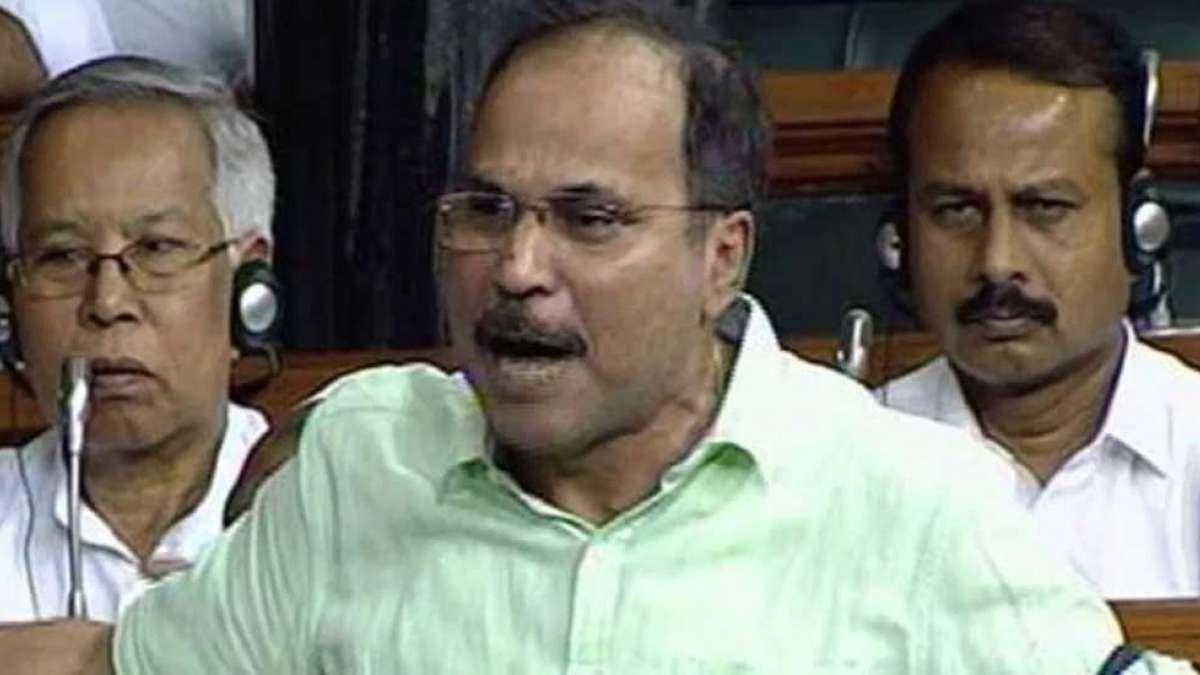 Adhir Ranjan apologises for making derogatory remark against PM Modi