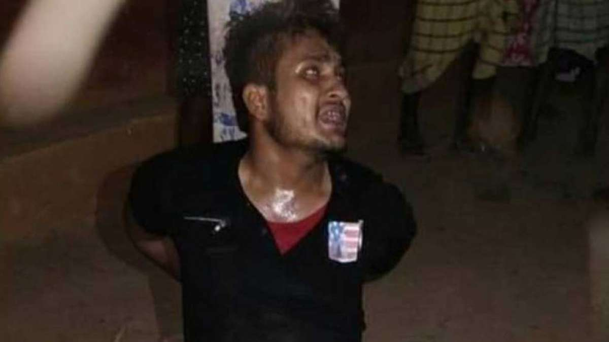 Youth accused of theft, forced to chant 'Jai Shri Ram' dies