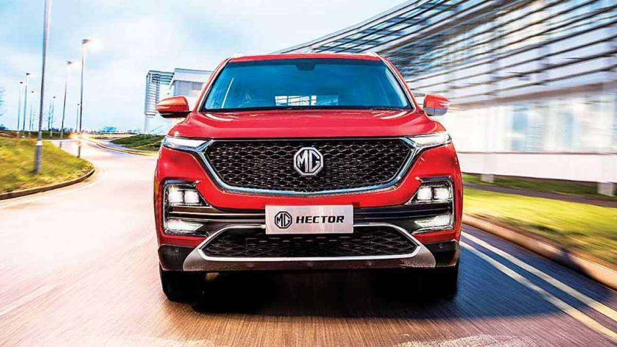 MG Hector SUV launched in India at Rs 12.18 lakhs