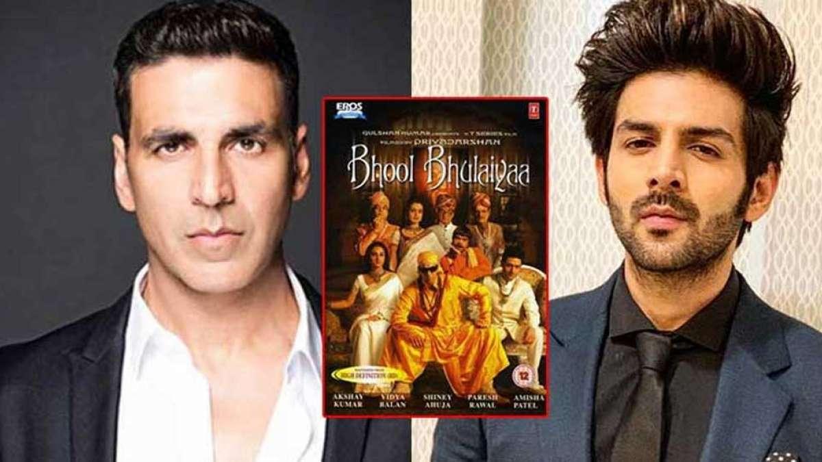 Kartik Aaryan replaces Akshay Kumar in 'Bhool Bhulaiyaa 2': Report