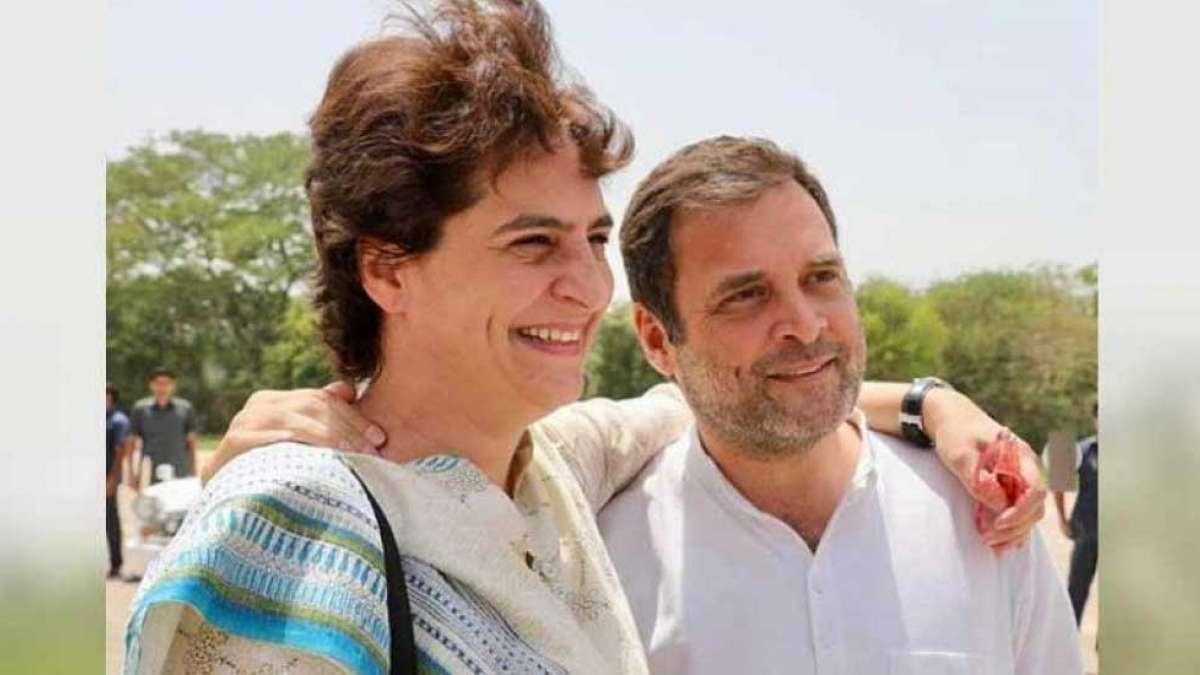 Priyanka Gandhi praises Rahul Gandhi for the courage to resign