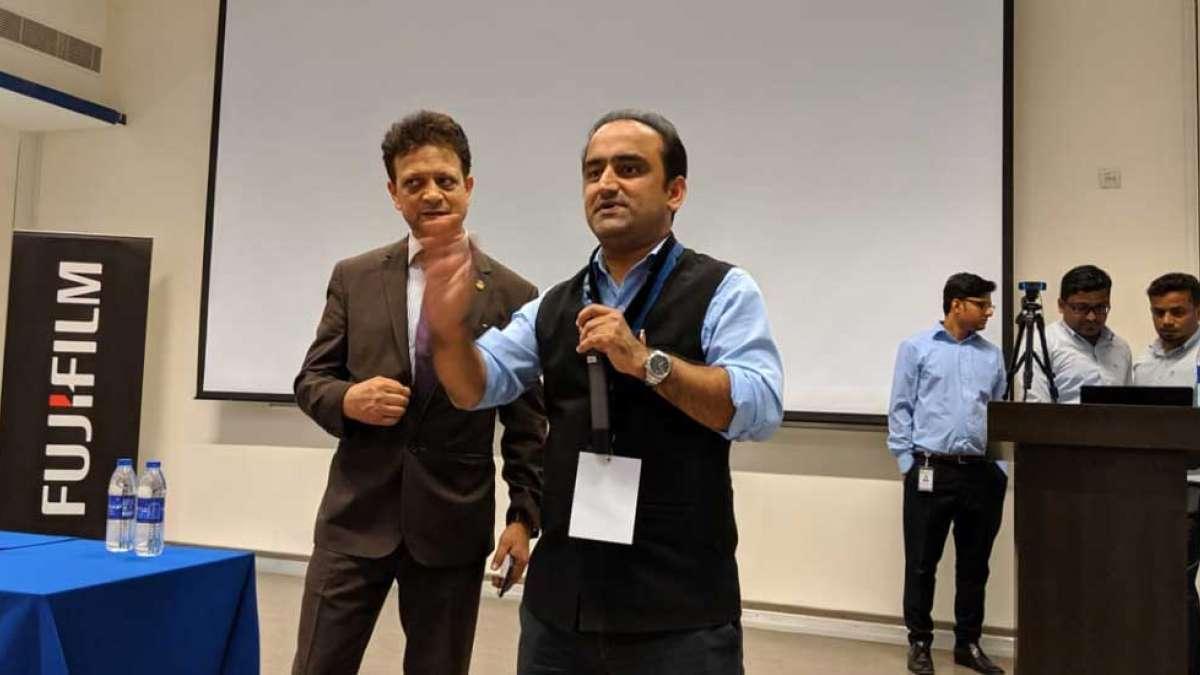 Professor Manish Verma of Amity University at Dubai conference