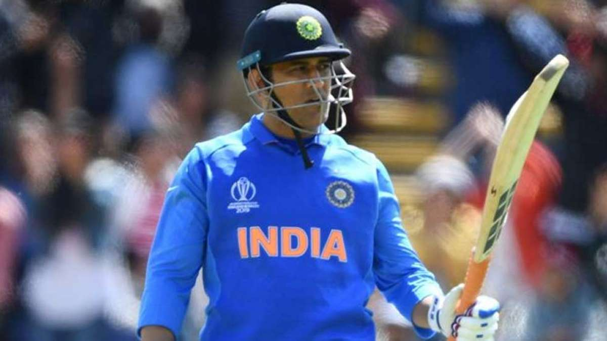Mahendra Singh Dhoni during a match