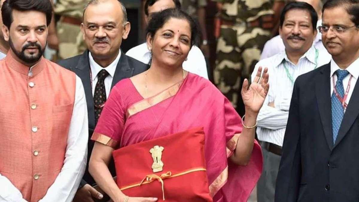 Budget 2019: Union Finance Minister Nirmala Sitharaman