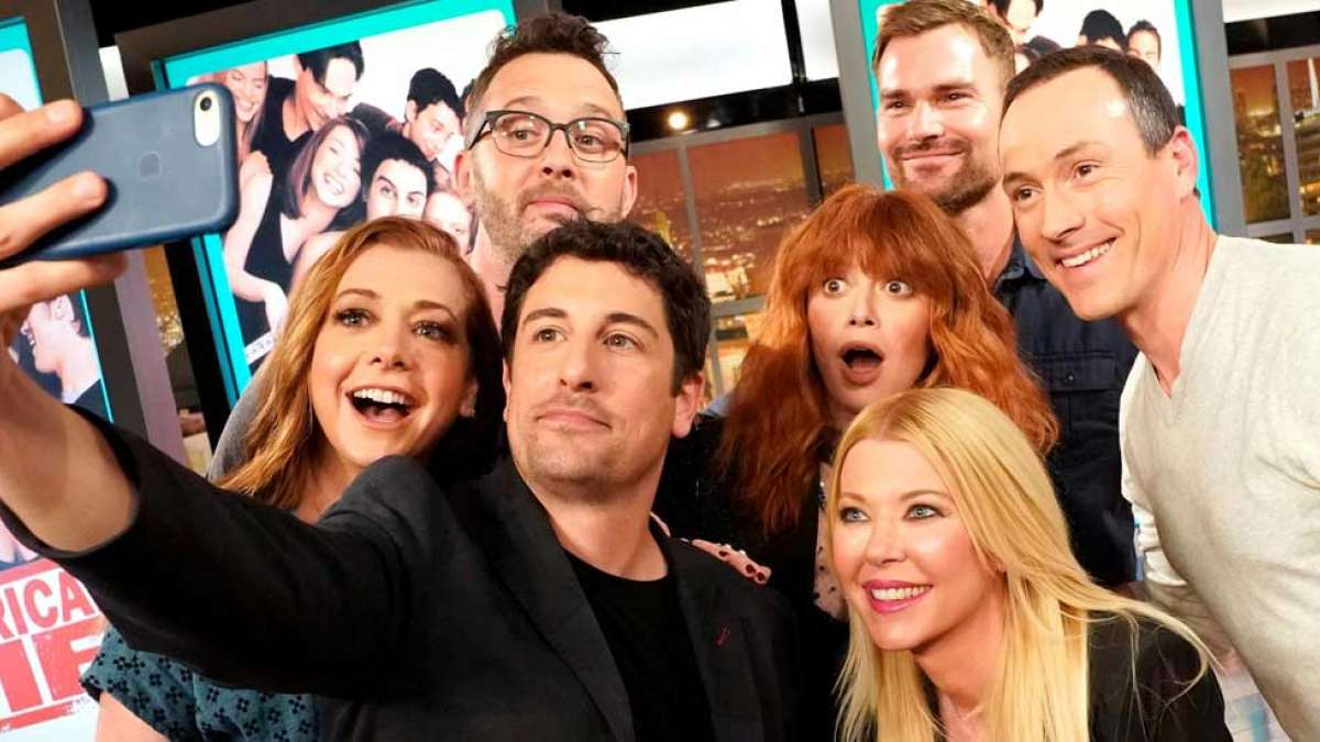 American Pie cast reunites after 20 years