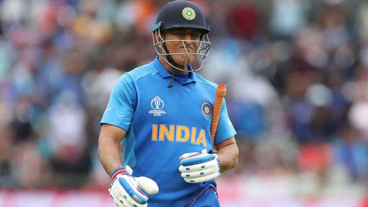 """""""Legends don't cry"""": India tells MS Dhoni after he was spotted crying"""