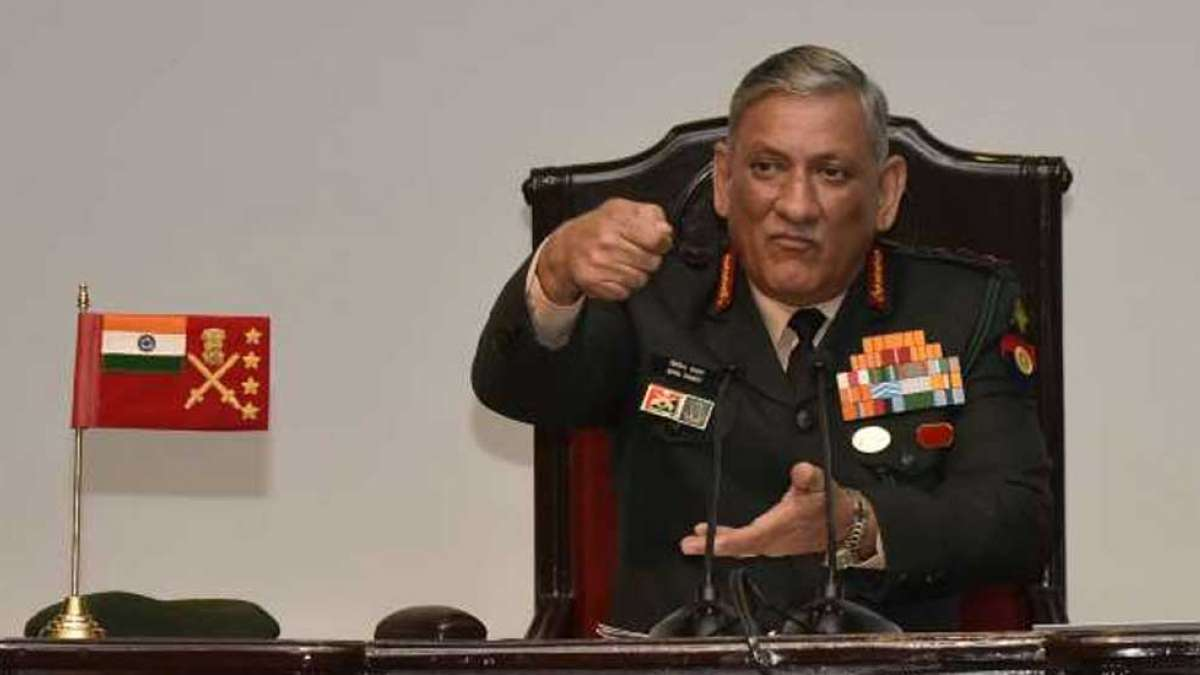Let there be no doubt about India's action: Bipin Rawat warns Pakistan