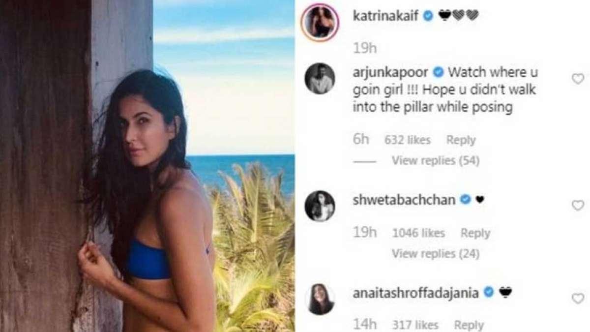 Arjun Kapoor's comment on Katrina Kaif picture