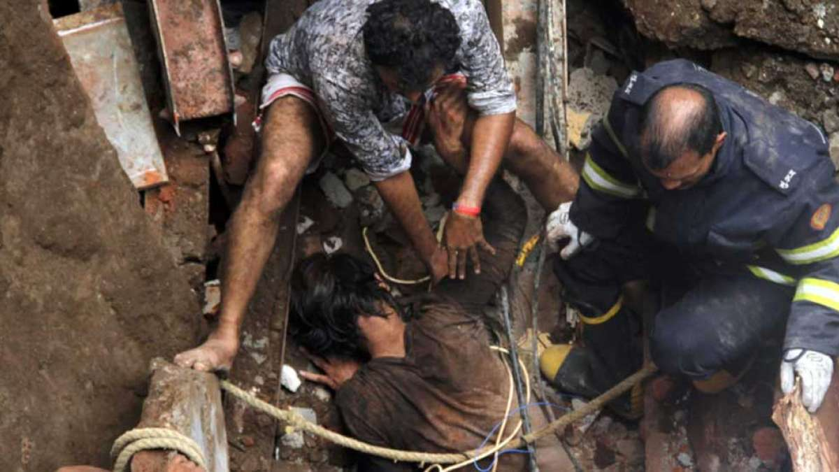 Mumbai building collapse: 10 dead, many still trapped under debris