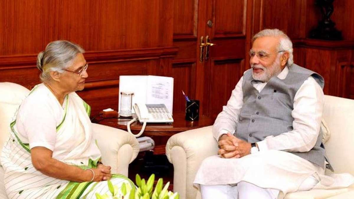 PM Narendra Modi condoles Shiela Dikshit's death