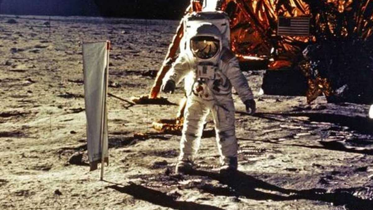 Apollo 11 original moonwalk tapes sell for $1.8 mn