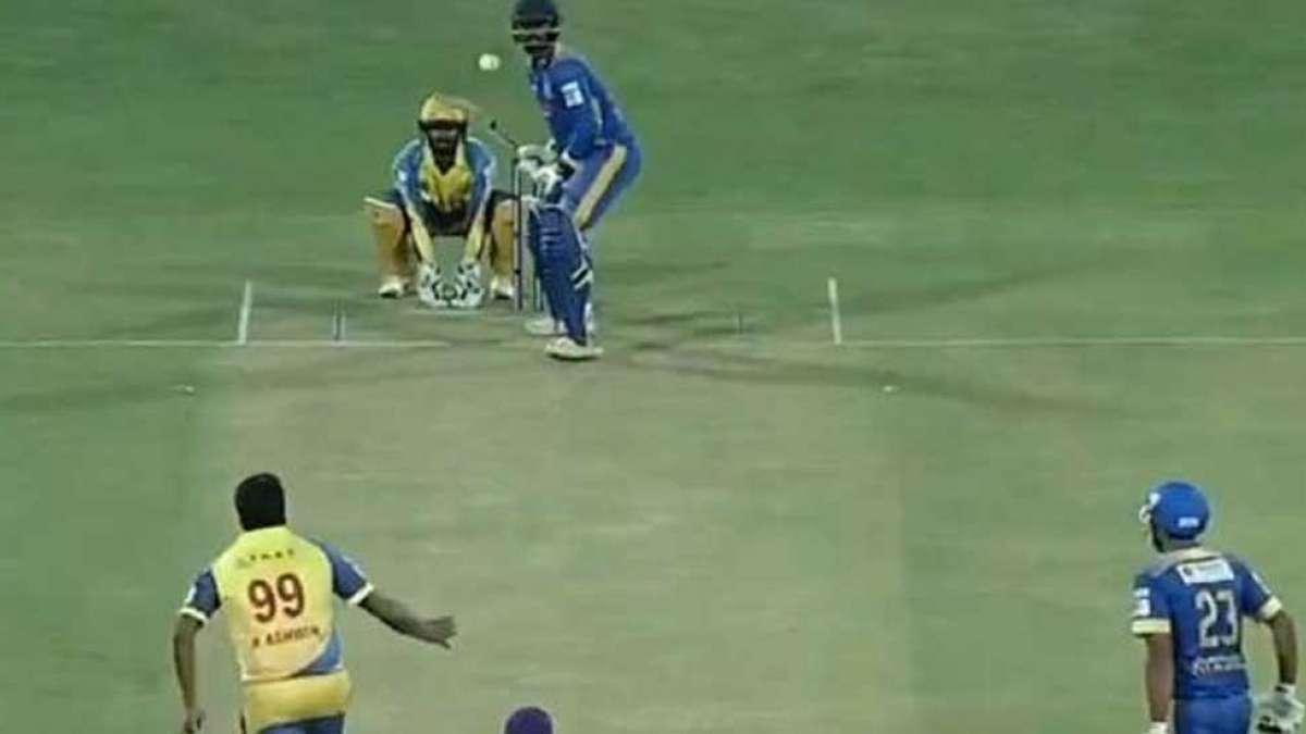 R Ashwin mystery ball during Tamil Nadu Premier League