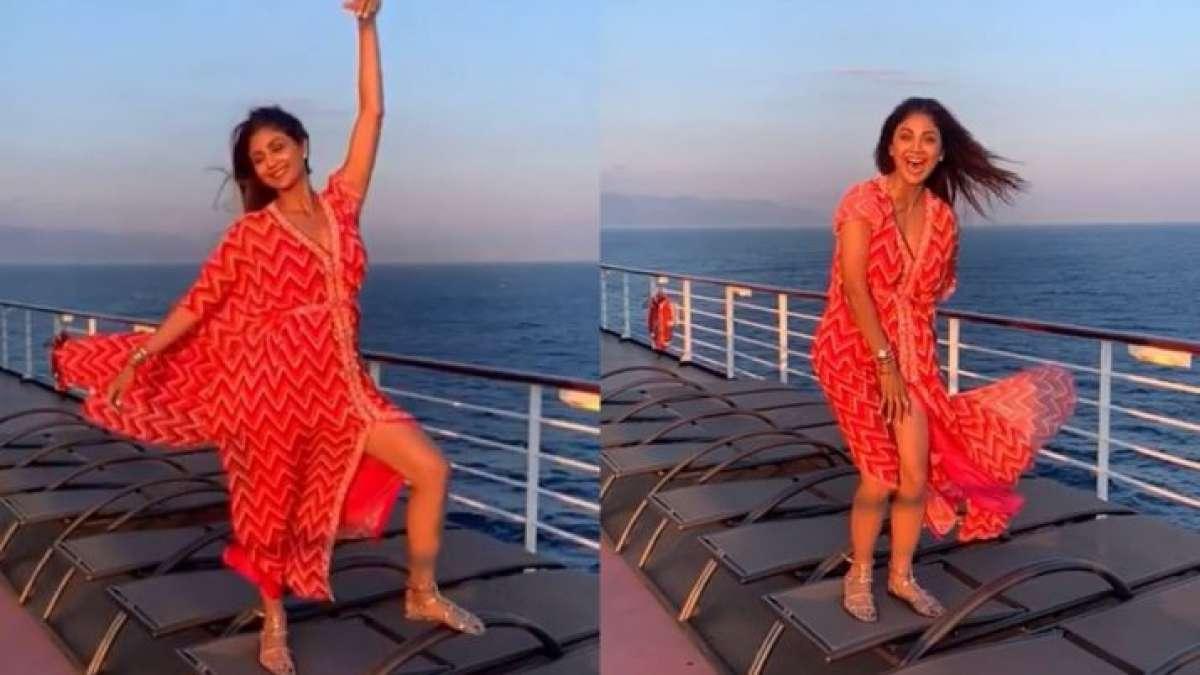 Shilpa Shettys Oops moment video